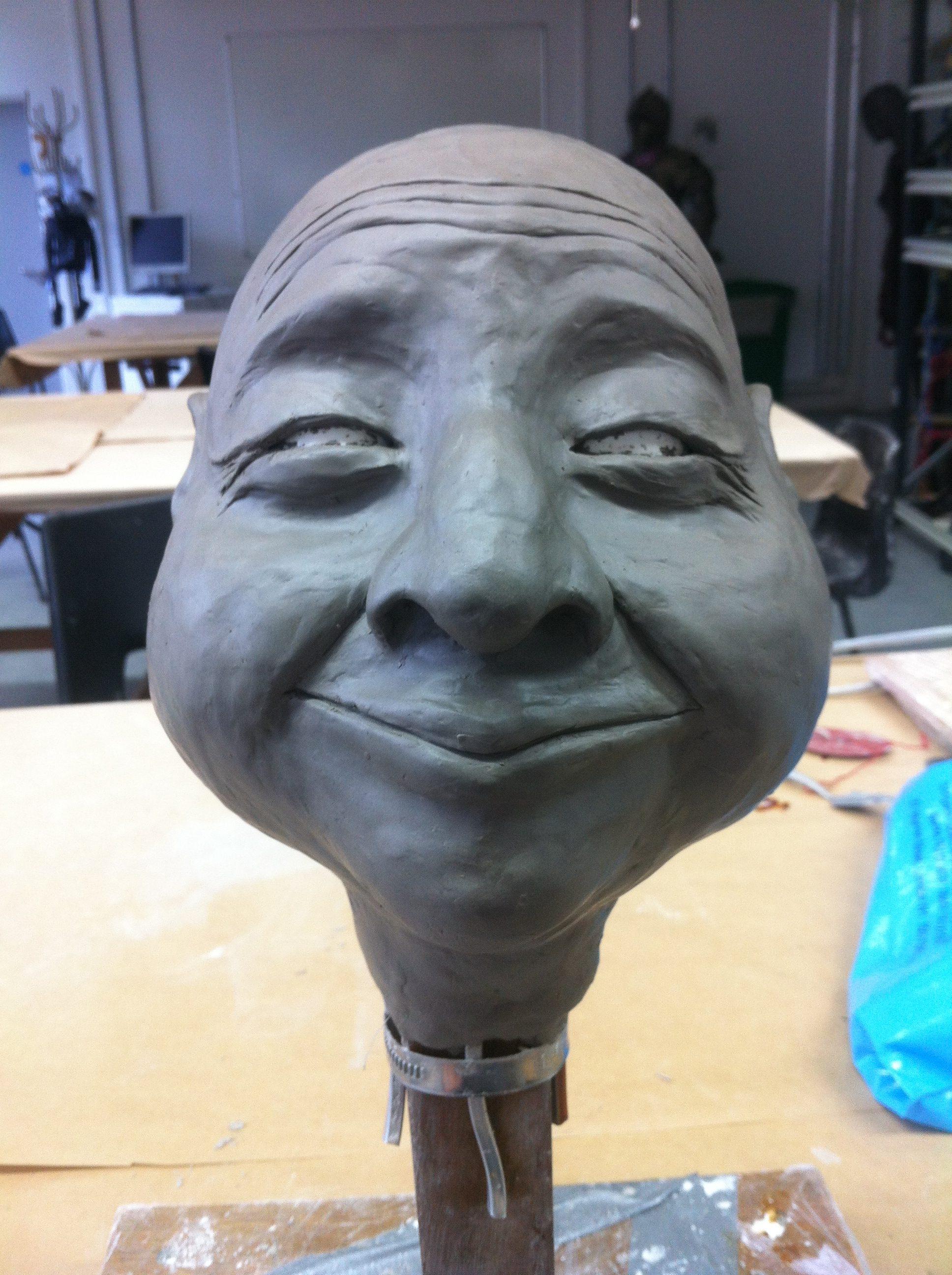 puppet head sculpt