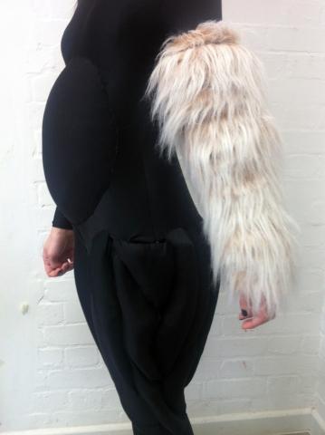 Lycra strech bodysuit with various paddings