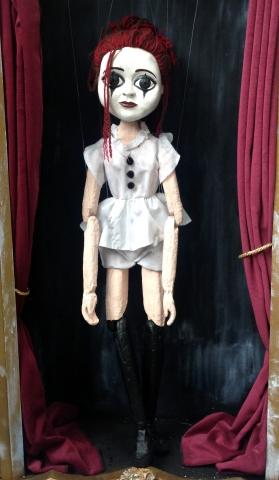 lulu portrait puppet