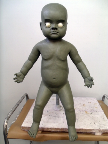Final changeling baby full body sculpt