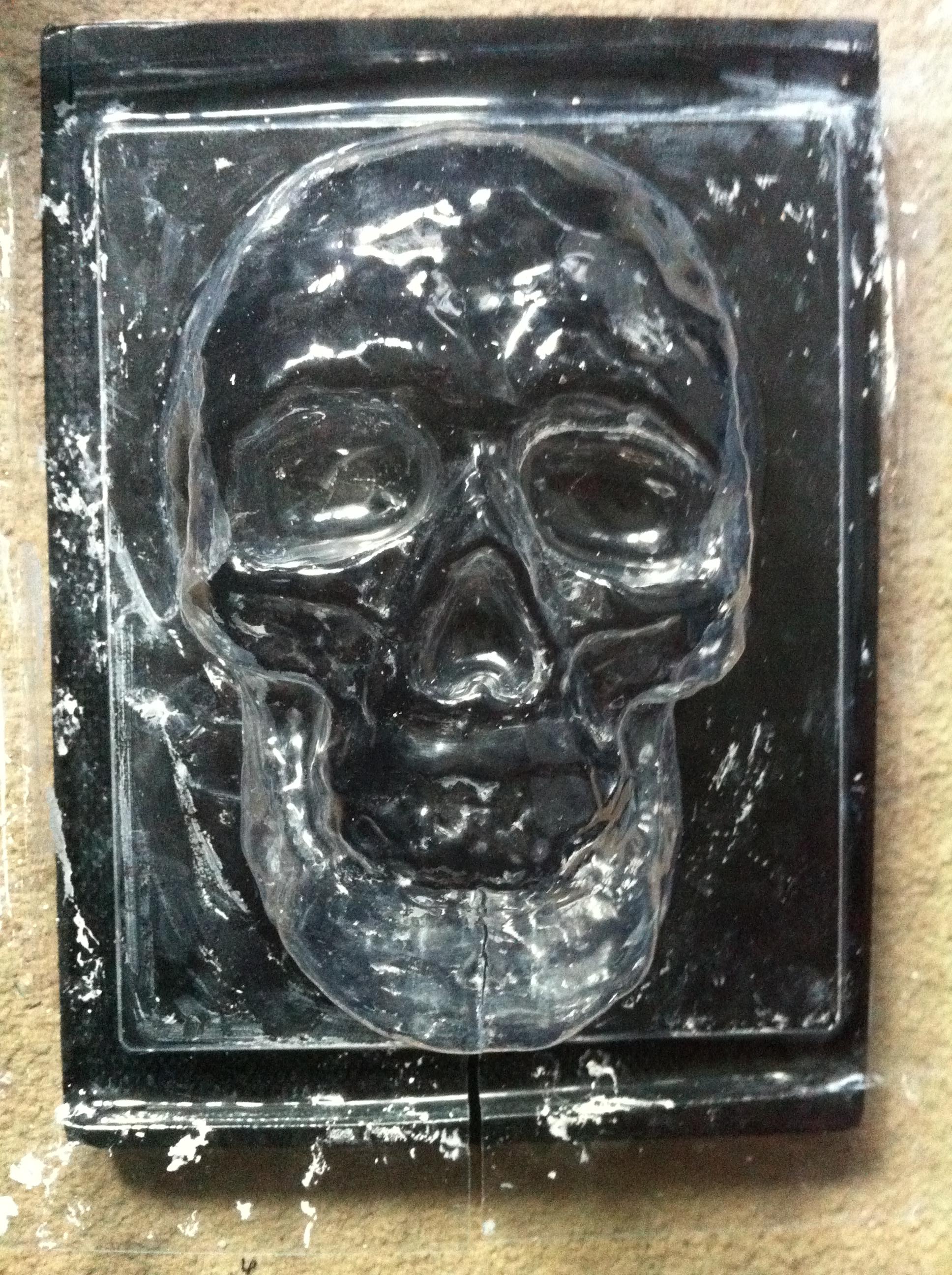 vac form skull plastic