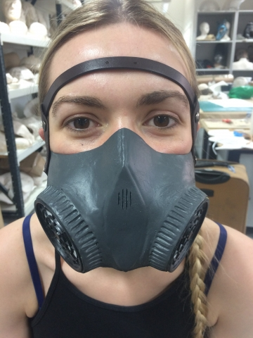 Respirator mask fitting