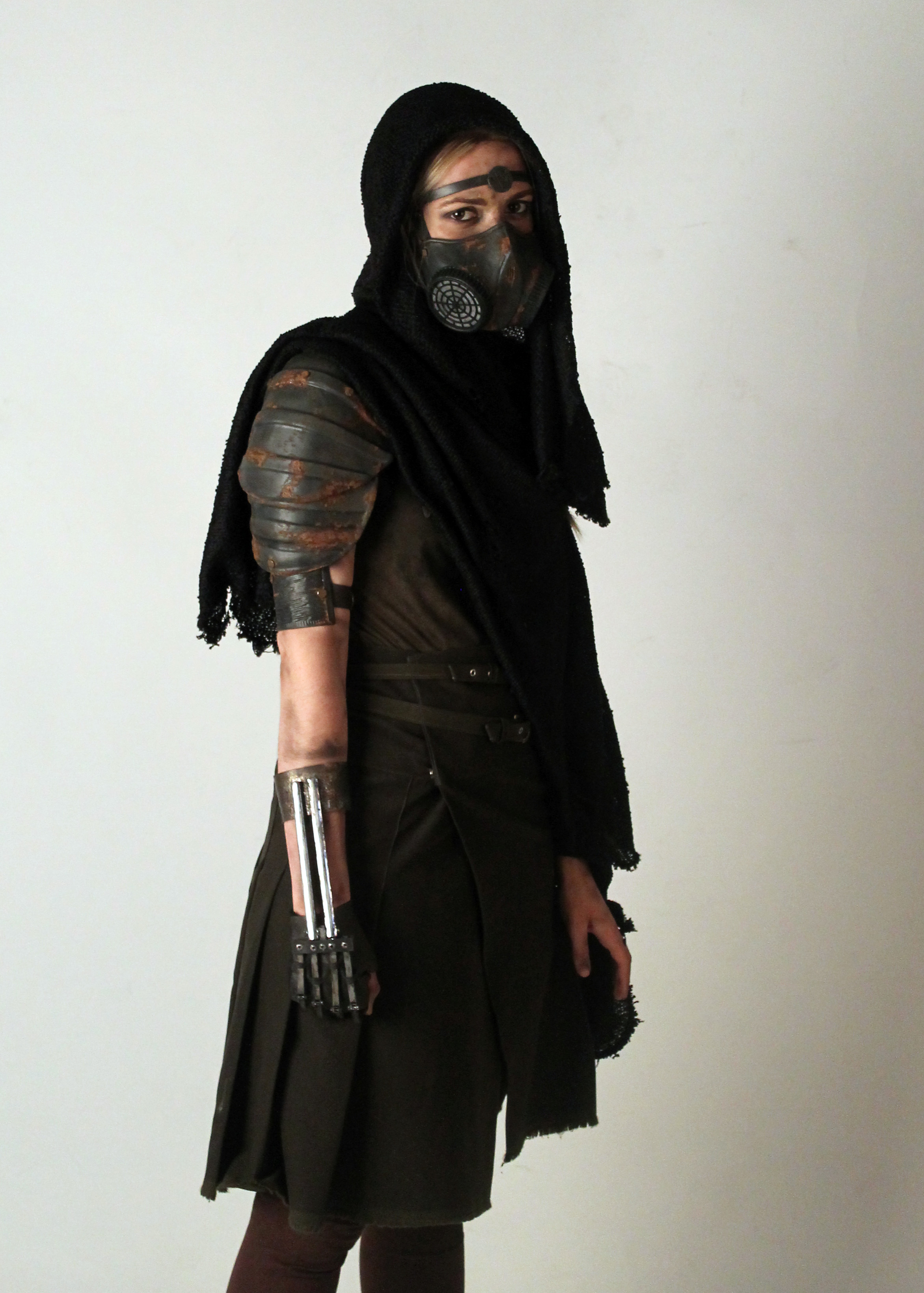 Metropolis footsoldier character costume with armour