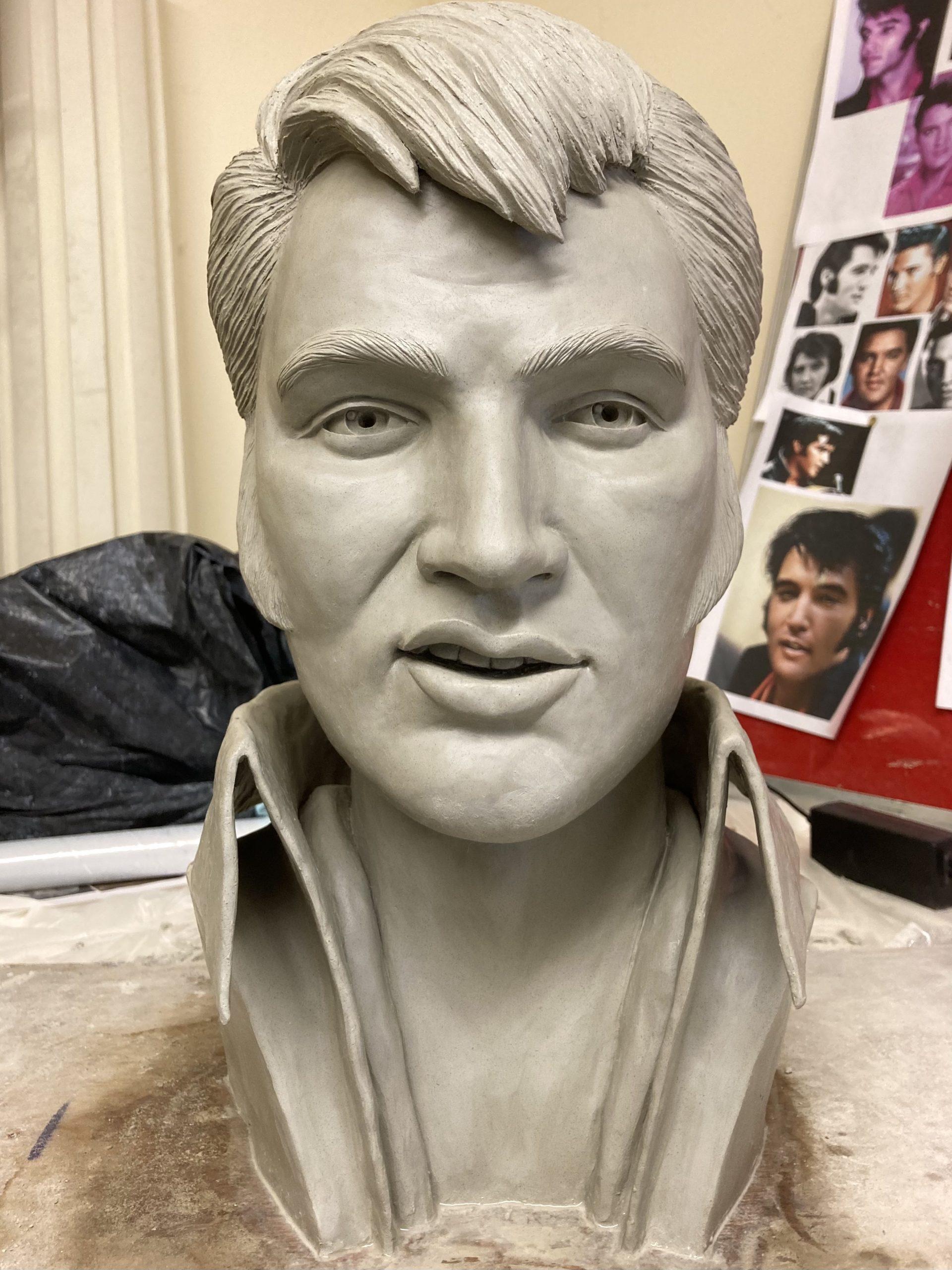 Elvis Presley bust